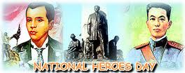 National Heroes Day of Philippines